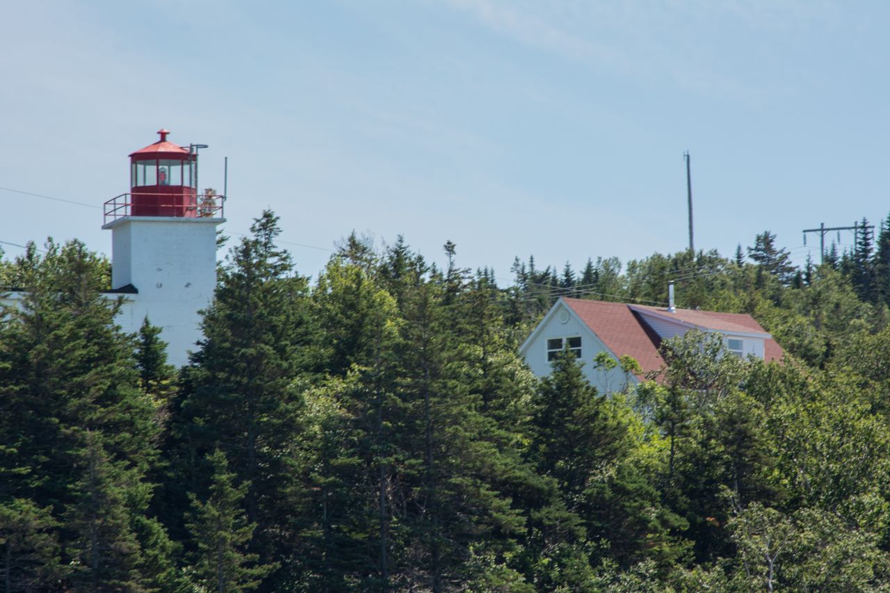 Long Eddy Lighthouse - Grand Manan Island